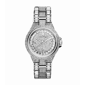 Michael Kors Camille Pave Silver - Tone Watch
